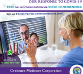 Credence Medicure Launches Free Online Medical Consultation